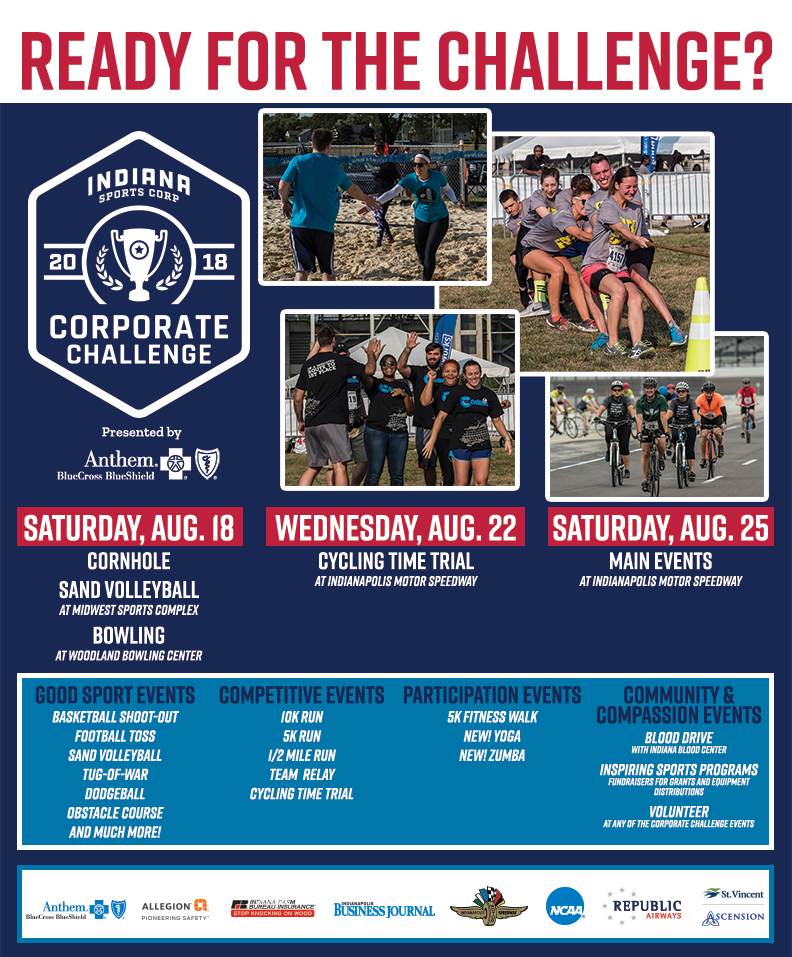 Indiana Sports Corp Corporate Challenge - Team… | Indiana